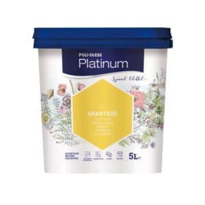 Poli-farbe Platinum beltéri falfesték, 5 literes kiszerelés