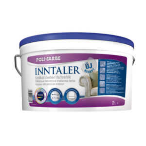 Poli-farbe Inntaler szilikát beltéri falfesték, 2 literes kiszerelés