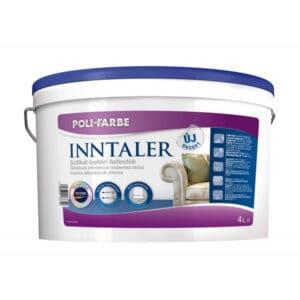 Poli-farbe Inntaler szilikát beltéri falfesték, 4 literes kiszerelés