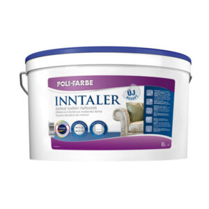 Poli-farbe Inntaler szilikát beltéri falfesték, 8 literes kiszerelés