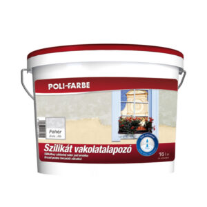 Poli-farbe szilikát vakolatalapozó, 16 literes kiszerelés